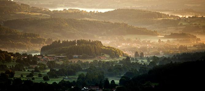Photo de vacances dans le Cantal