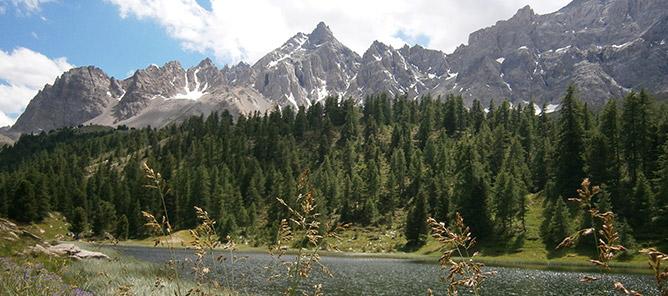 Photo de vacances dans les Hautes-Alpes