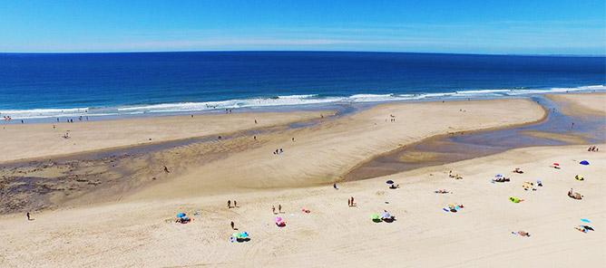 Photo de vacances sur la côte Atlantique