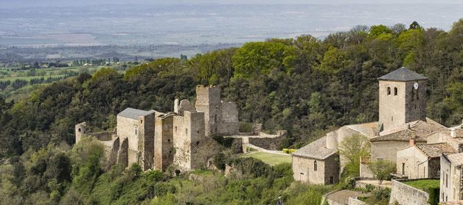 Photo de vacances dans la pays Cathare