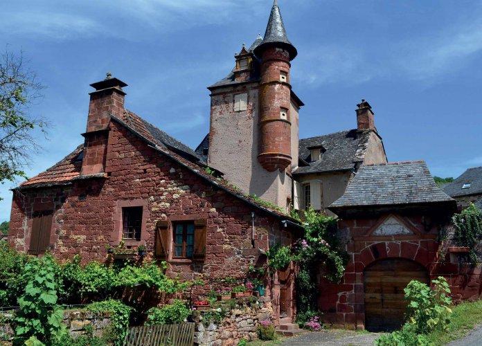 WEB - Fiches villages - Collonges la Rouge - Hiver