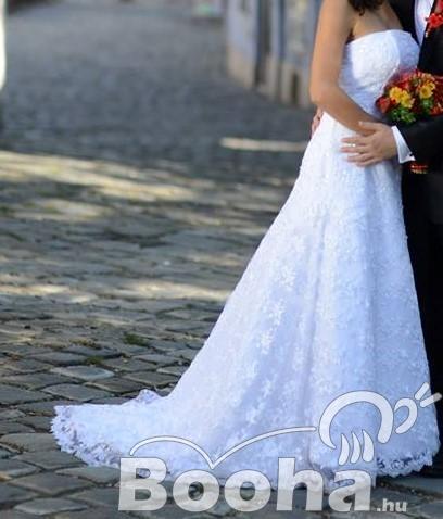 3cf11f845e Meseszép menyasszonyi ruha eladó