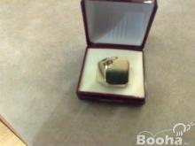 Arany férfi pecsét gyűrű