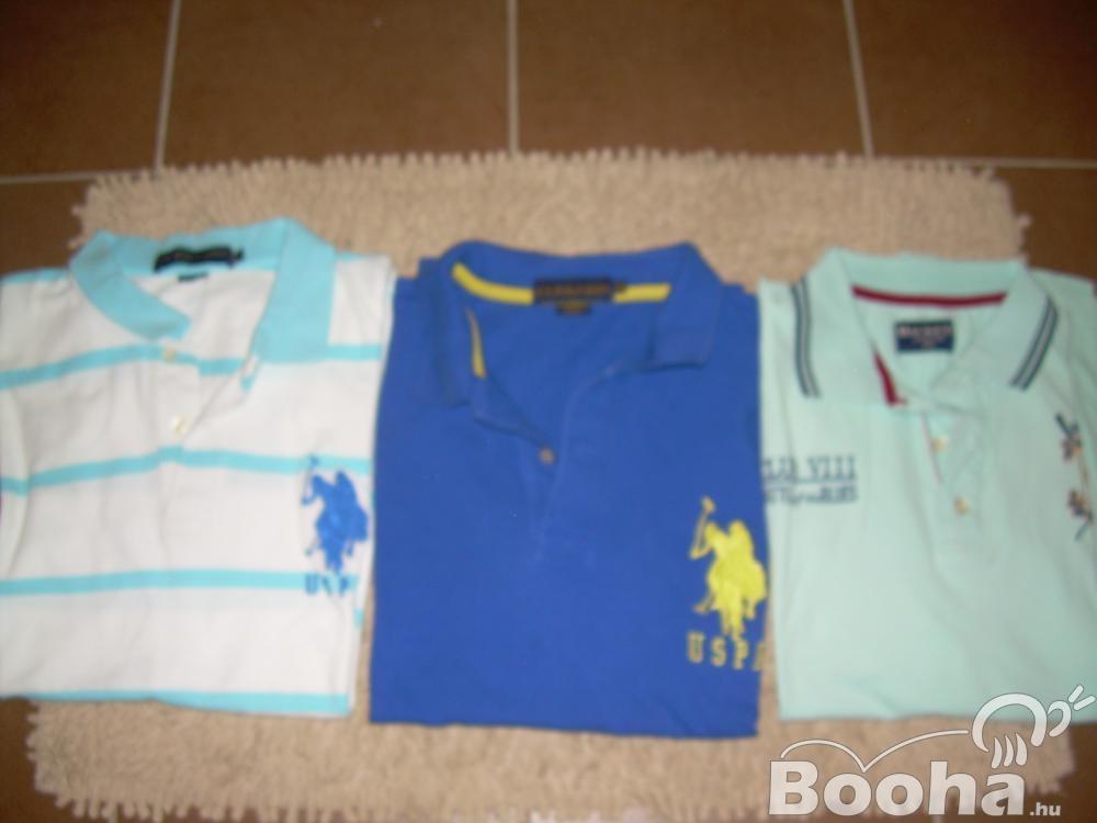 Márkás XL,2-3XL-es férfi pólók eladók