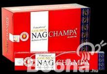 Nag Meditation , Nag Champa , Nag Chandan füstölő Golden Nag