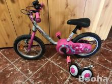 Gyerek bicikli pótkerékkel