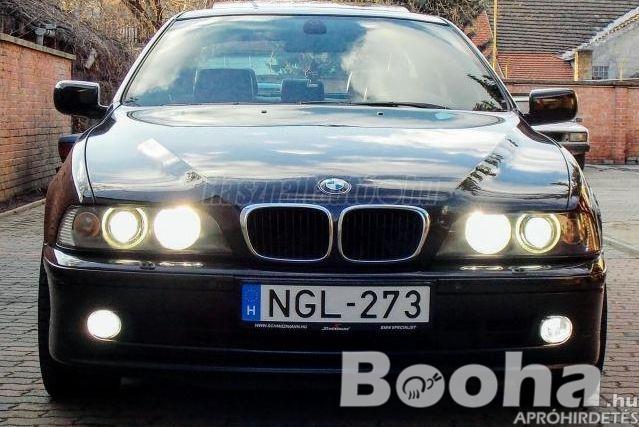 Eladó használt BMW 530d (Automata) German Edition, 2001\6, Fekete (metál) színű