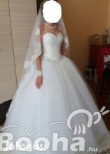 Eladó egyedi esküvői ruha !!