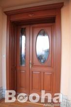 Fa ablakok erkélyajtók bejárati ajtók gyártása!