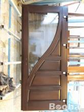Fa erkély ajtók bejárati ajtók gyártása!