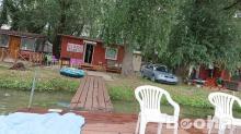 Eladó vízparti nyaraló Tiszafüreden!