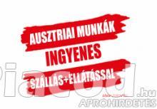 Ausztriai, németországi gyári munkalehetőségek!!