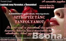 SZTRIPTÍZTÁNC TANFOLYAM -Ajándékozz a barátnődnek, feleségednek SZTRIPTÍZTÁNC TANFOLYAMOT