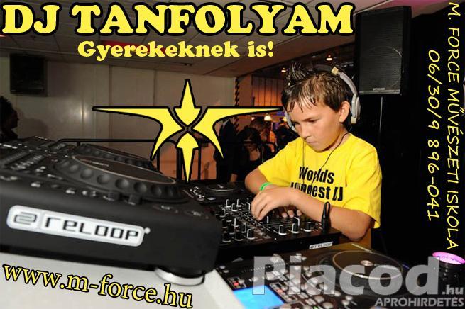 DJ TANFOLYAM, MUNKALEHETŐSÉGEKKEL!