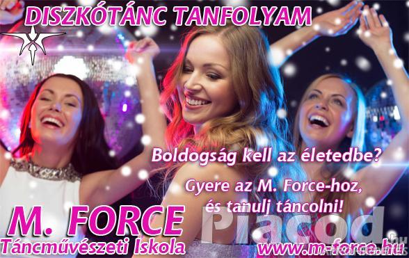DISZKÓTÁNC TANFOLYAM - Légy felszabadult. Szerezz örömöt magadnak tánccal!