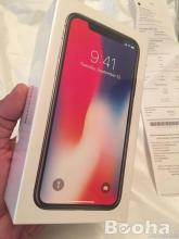 Apple iPhone X (iPhone 10) - 64 GB Space Gray \ Silver 12M garancia
