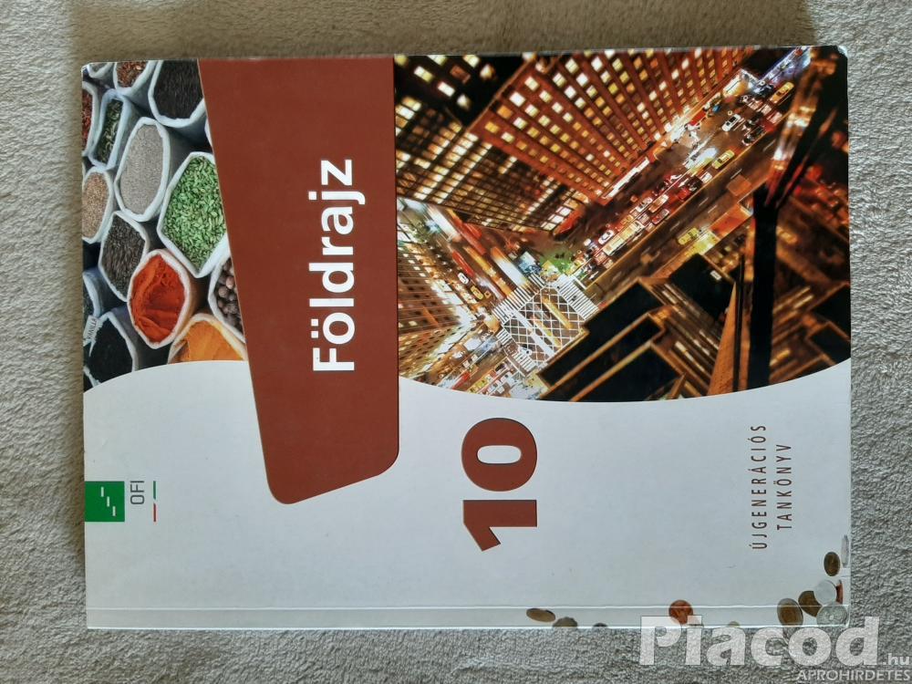 Eladó Földrajz tankönyv