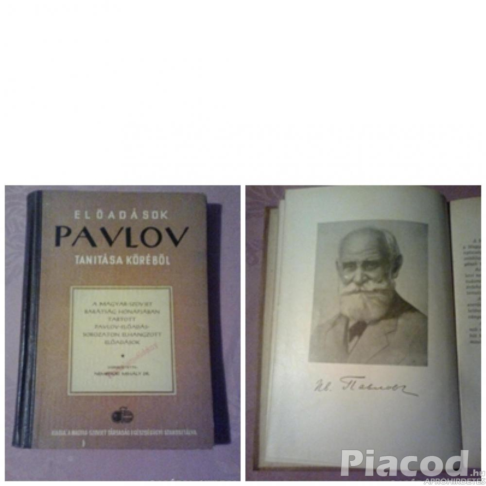 Előadások Pavlov tanításai köréből