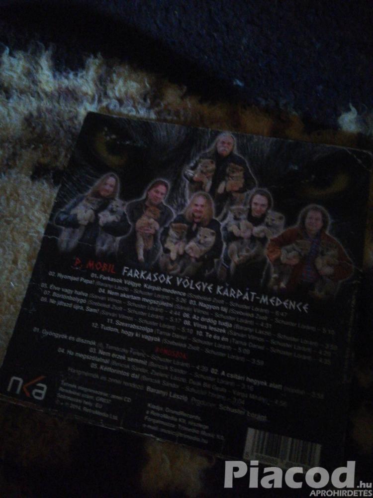 P. Mobil-Farkasok völgye, Kárpát-medence(CD)