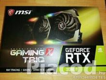 eladási MSI GeForce RTX 2080 Ti GAMING X TRIO