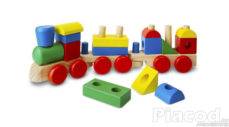 M&D, Fa készségfejlesztő játékok, építs vonatot