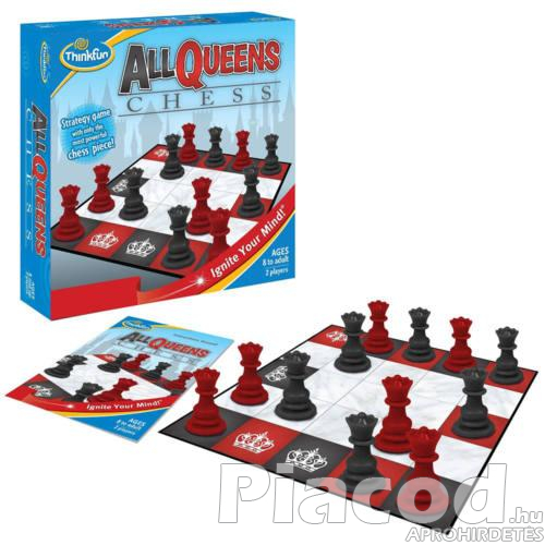 All Queens Chess társasjáték Thinkfun