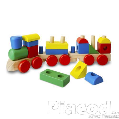 M&D, FA készségfejlesztő játék, építs vonatot