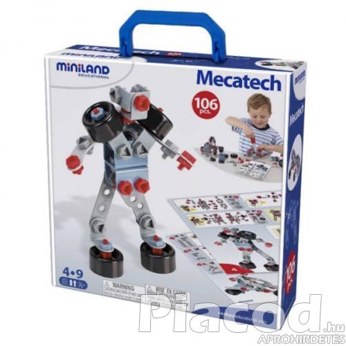 ML95015 Konstrukciós játék - Mecatech,106 db 4-9év
