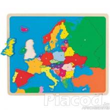 GK57509 Európa puzzle 35 db Goki