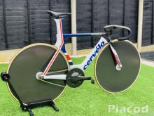 Special Cervelo T4 GB Rio Colours Track Bike Fixie (Frameset only) For Sale T5