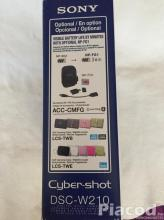 Digitális Fényképező - Sony Cyber-Shot DSC-W210 12.1 Mega Pixels