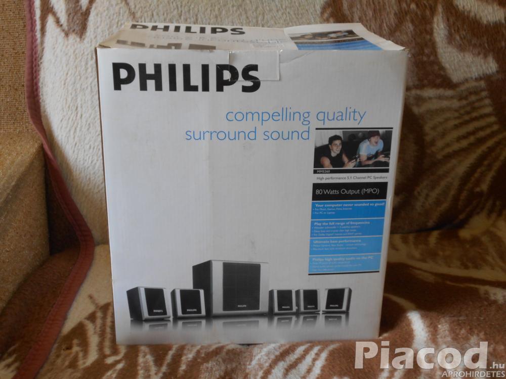 Eladó egy Philips PC hangszóró.
