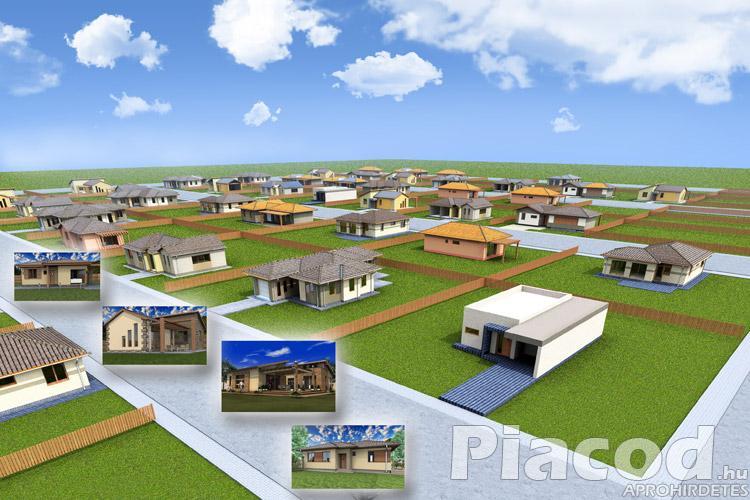 Új lakóparkba építési  telek eladó