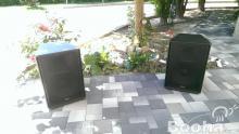 Eladó Y-Audio DYS-115B hangfalpár + kábel