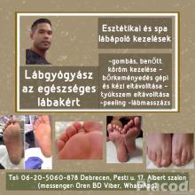 Pedikűr, lábgyógyászat