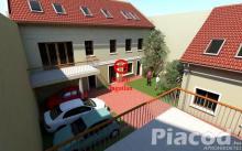 Eladó új építésű 57 m2-es földszinti lakás Vác-Belvároshoz közel. 33 M Ft