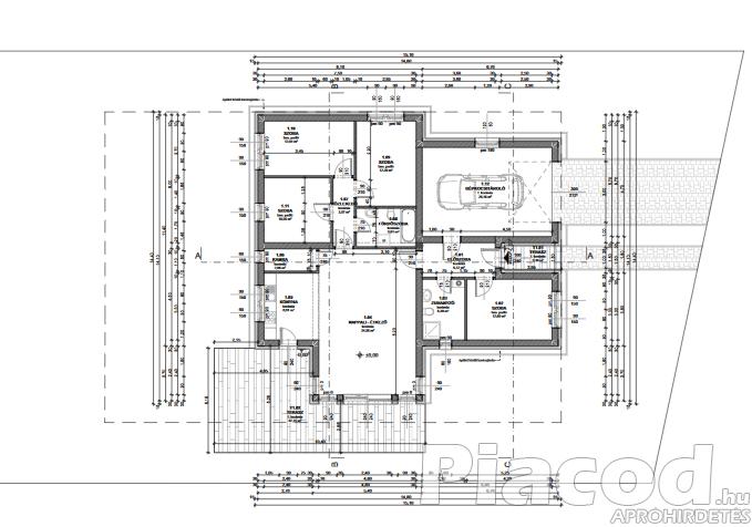 Eladó új építésű ikerház mindkét lakása Vácrátóton.  39.9 M Ft