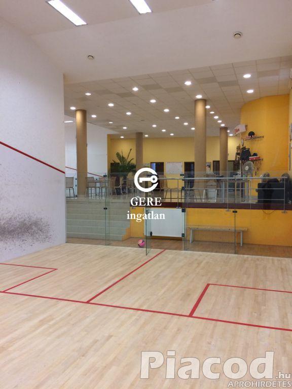 Váci Sportlétesítmény (Squash Club) és Gyermek Játszóház ELADÓ! 130 M Ft