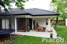Eladásra kínálok ikerház mindkét ingatlanát, Vácrátót új építésű lakóparkjában.