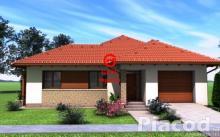Eladásra kínálok új építésű családi házat, dupla garázzsal Vácrátót új lakóparkjában .
