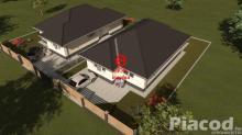 Eladó új építésű különálló 107 m2-es családi ház Őrbottyán, Kálvária dombon.
