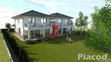 Remek új építésű ikerház mindkét fele eladó Fót Kisalag csendes részén.