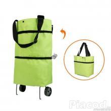 Gurulós bevásárló táska