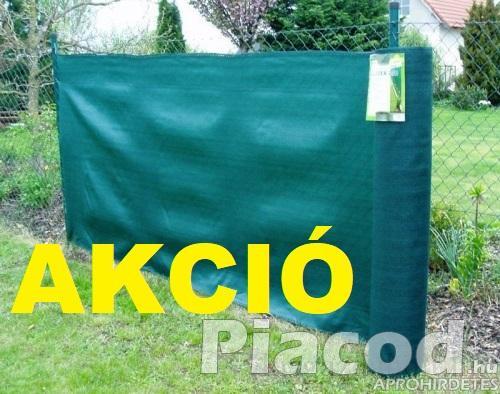 AKCIÓ Árnyékoló háló SUPERTEX260 1,8x10m zöld 99%