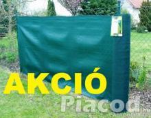 AKCIÓ Árnyékoló háló SUPERTEX260 1,5x50m zöld 99%