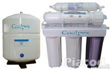 Fordított ozmózis víztisztító, klórszűrő, zuhanyszűrő