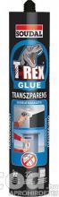Soudal T-REX ragasztó transzparens ragasztó