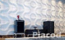 ABS polimer falpanel \ dekoratív falburkoló elem