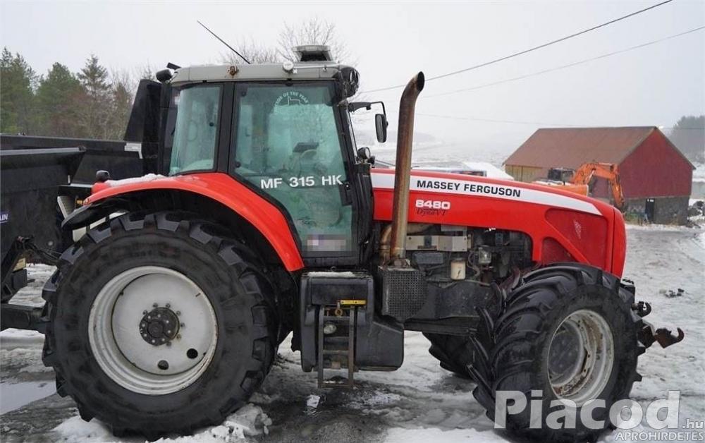 Massey Ferguson 8480 Super Traktor