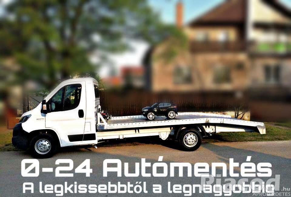 0-24 Autómentés Autószállítás Furgonmentés Budapest XXI. Kerület.
